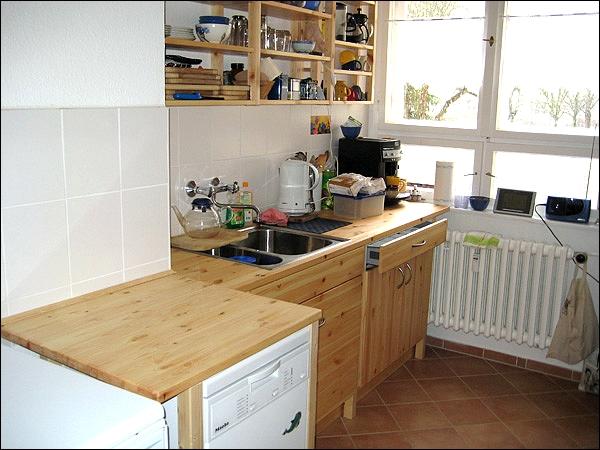küchen - Küche Kiefer Massiv